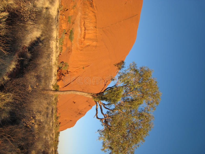 Uluru (roca de Ayers) foto de archivo libre de regalías