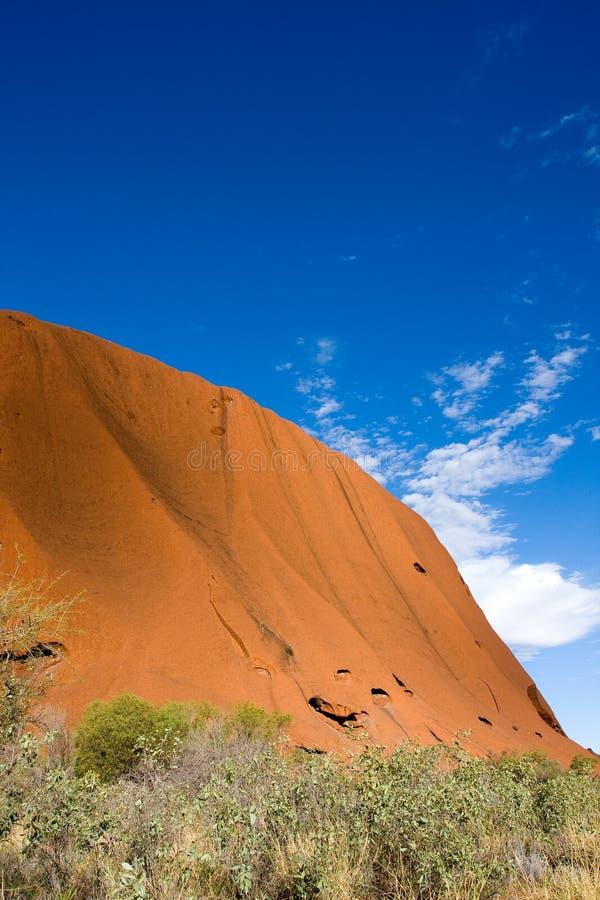 Uluru (roccia di ayers) fotografie stock