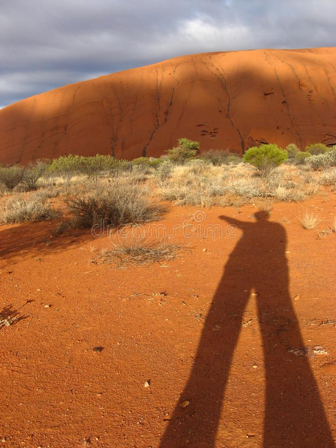 Download Uluru with shadow editorial photography. Image of australian - 39512187