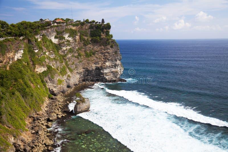 uluwatu ναών της Ινδονησίας απότο& στοκ φωτογραφίες με δικαίωμα ελεύθερης χρήσης