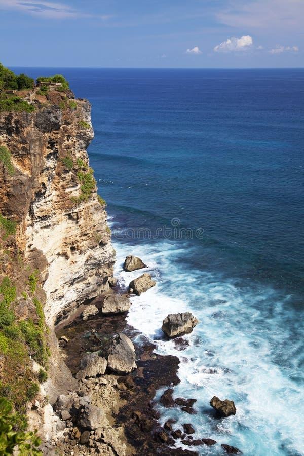 uluwatu της Ινδονησίας απότομων &b στοκ φωτογραφίες