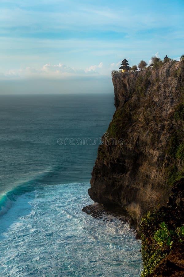 Uluwatu-cliffside Tempel - Bali stockfoto