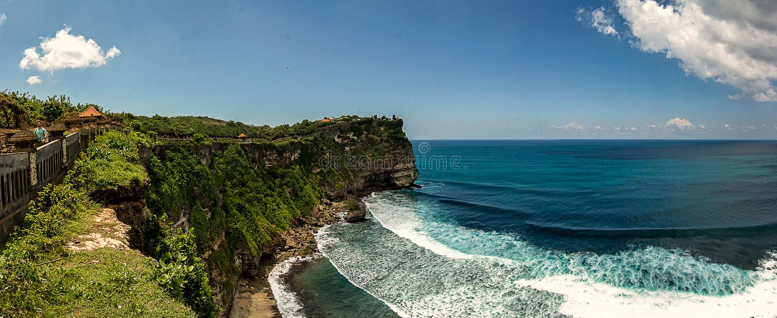 Uluwatu Temple, Bali royalty free stock photo