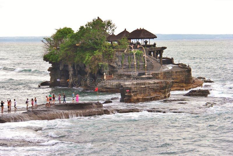 Uluwatutempel, Indonesië royalty-vrije stock foto's