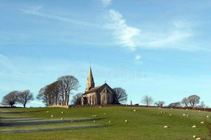 Ulverston country house royalty free stock images