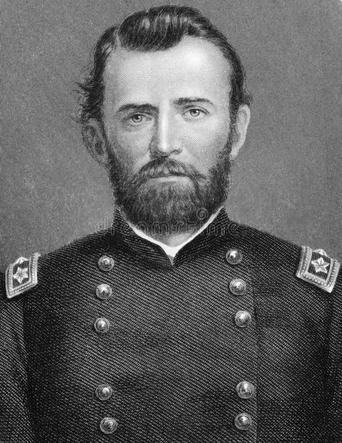 Ulysses S. Grant stock photos
