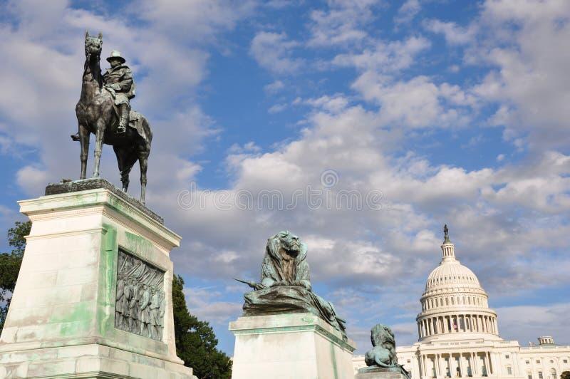 Download Ulysses S. Grant Cavalry Memorial Stock Image - Image: 32840607