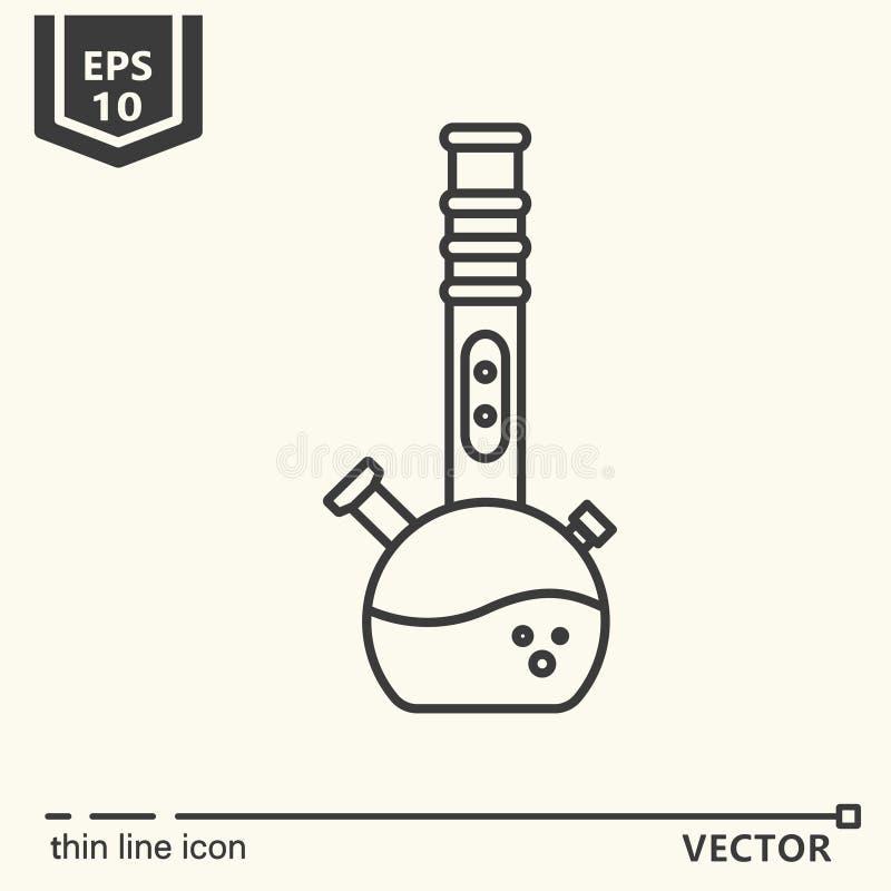 Um ícone - Bong ilustração do vetor