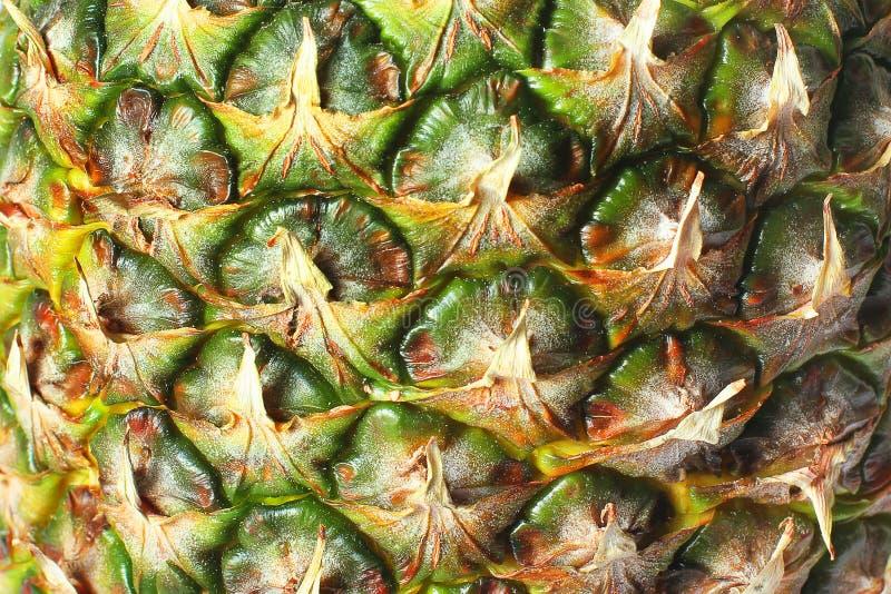 Um abacaxi Antecedentes do ananás Alimentos Textura fotos de stock royalty free
