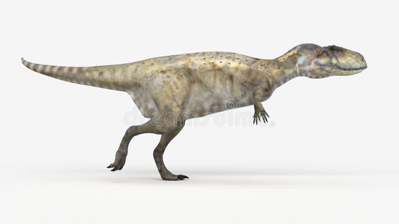 Um abelisaurus ilustração stock