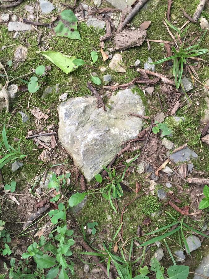 Um amor que seja contínuo como a rocha fotos de stock royalty free
