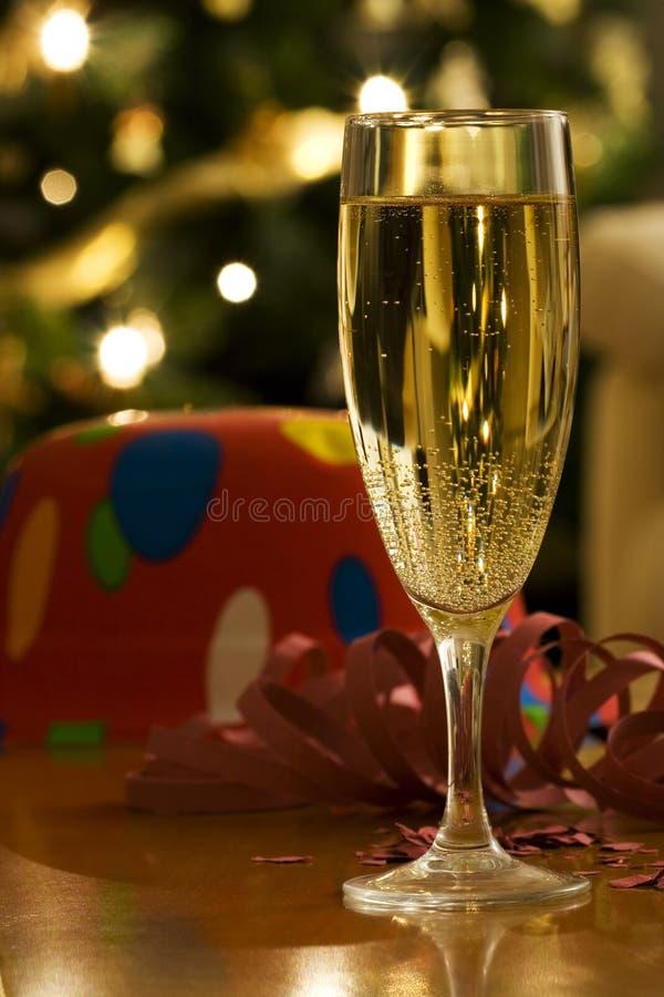 Um ano novo feliz está vindo fotografia de stock royalty free