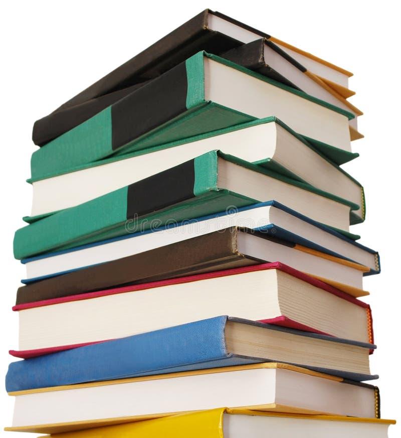 Um arquivo educacional do livro fotos de stock