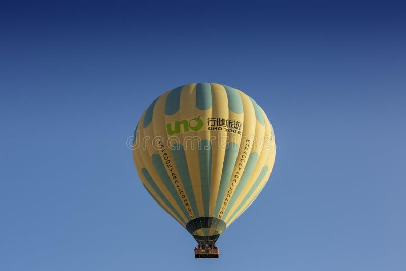 Um balão de ar quente imagens de stock royalty free