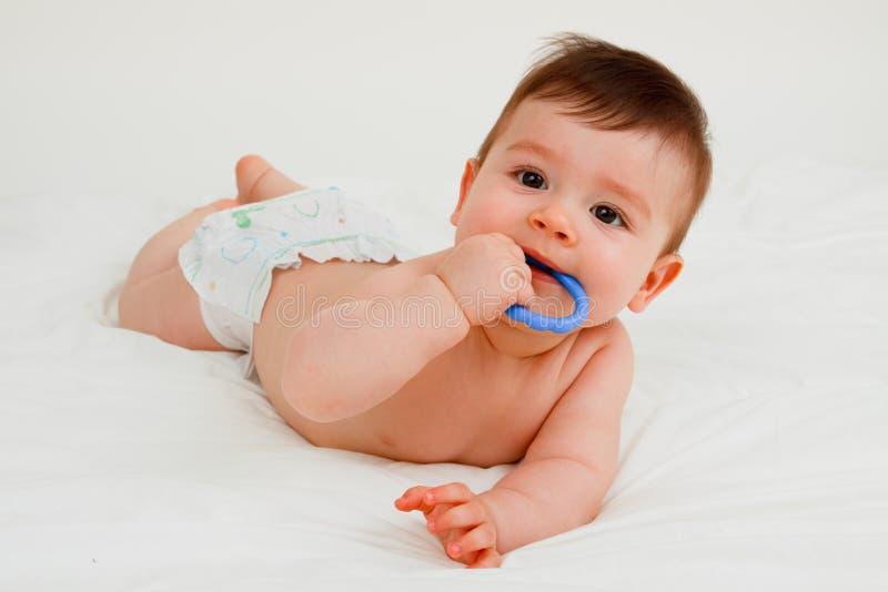 Um bebê imagens de stock