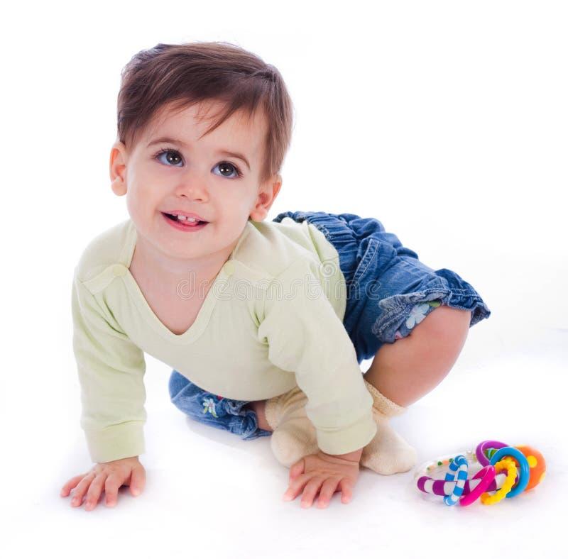 Um bebê adorável fotografia de stock