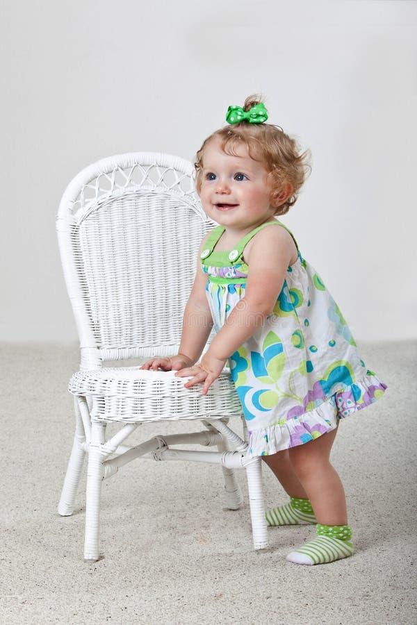 Um bebê dos anos de idade foto de stock royalty free