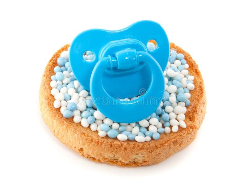 Um biscoito com ratos imagens de stock