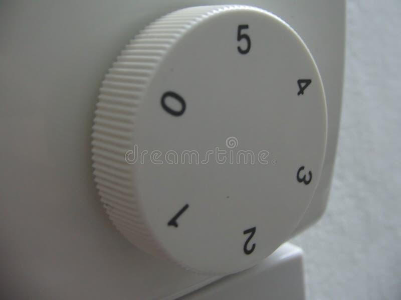 Um botão numerado fotos de stock
