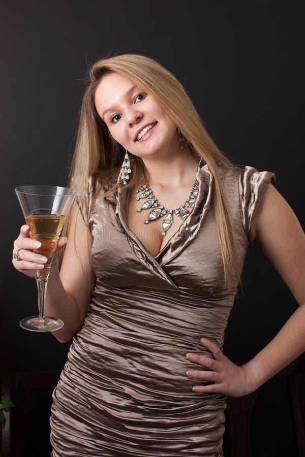 Um brinde do champanhe imagens de stock