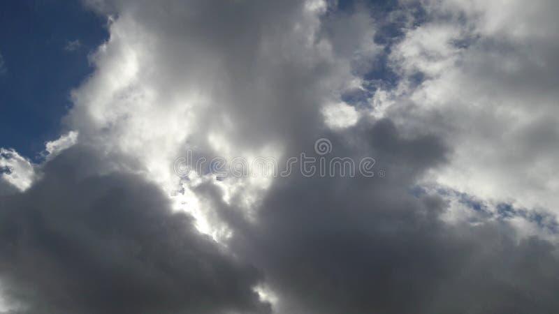Um céu maravilhoso imagens de stock