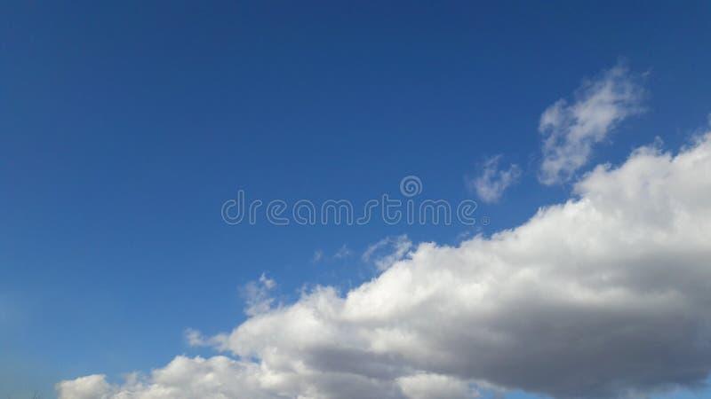 Um céu maravilhoso fotos de stock royalty free