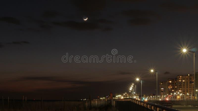 Um céu nocturno fotografia de stock