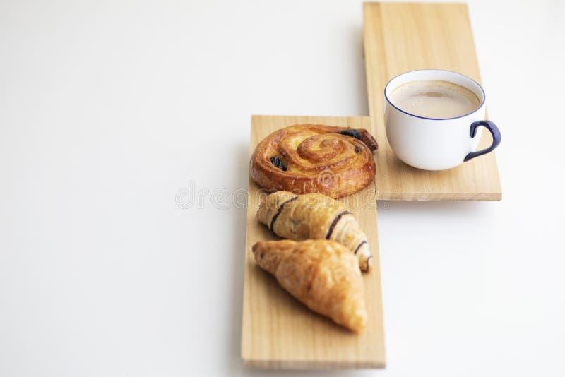 Um café da manhã simples fotografia de stock