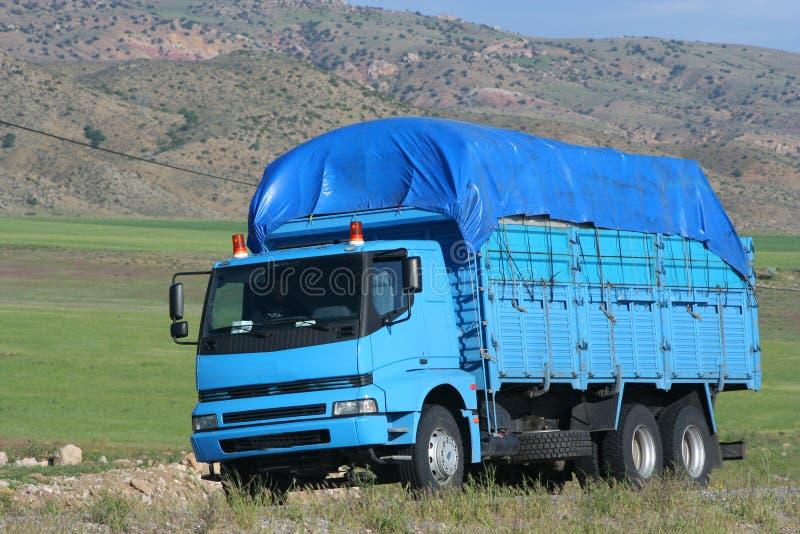 Um caminhão fotografia de stock