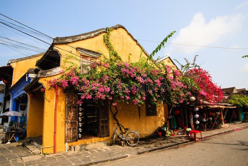 Um canto em Hoi An Ancient Town, Quang Nam vietnam imagens de stock