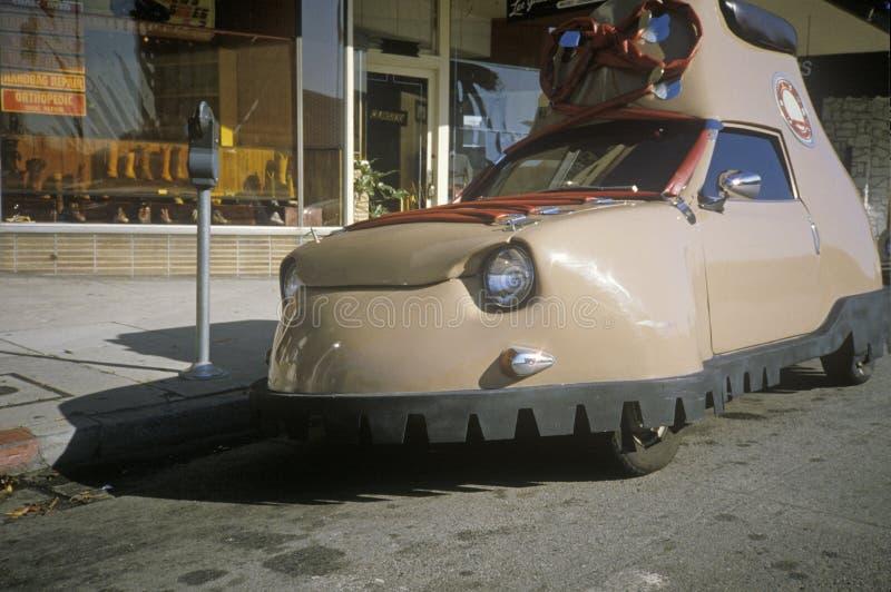 Um carro da sapata de Honda em Los Angeles, CA fotografia de stock
