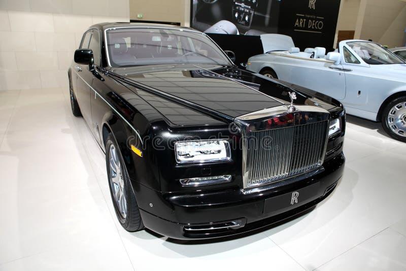 Um carro de Rolls royce fotos de stock
