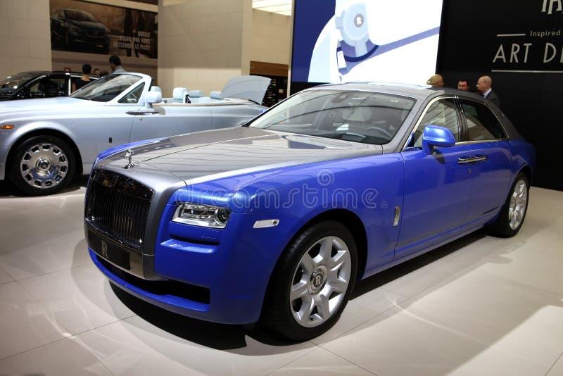 Um carro de Rolls royce fotos de stock royalty free