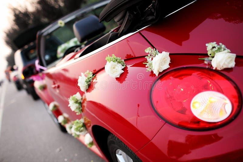 Carro do casamento fotos de stock royalty free