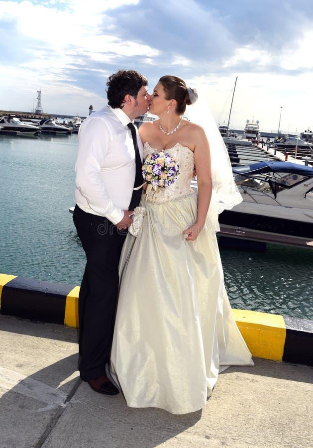 Um casamento da mola fotografia de stock