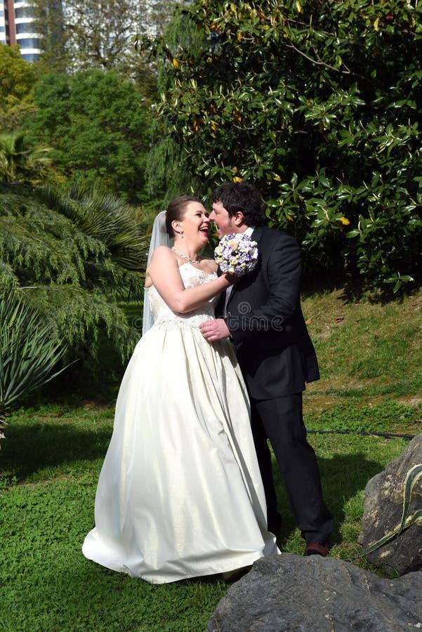Um casamento da mola imagens de stock
