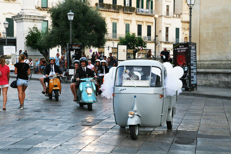 Casamento italiano imagem de stock royalty free
