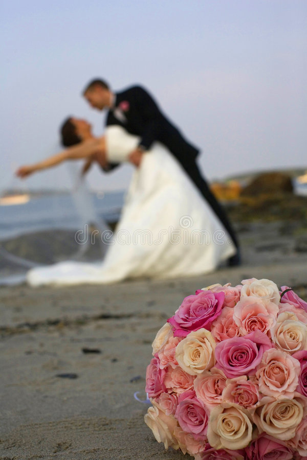 Um casamento perfeito fotografia de stock