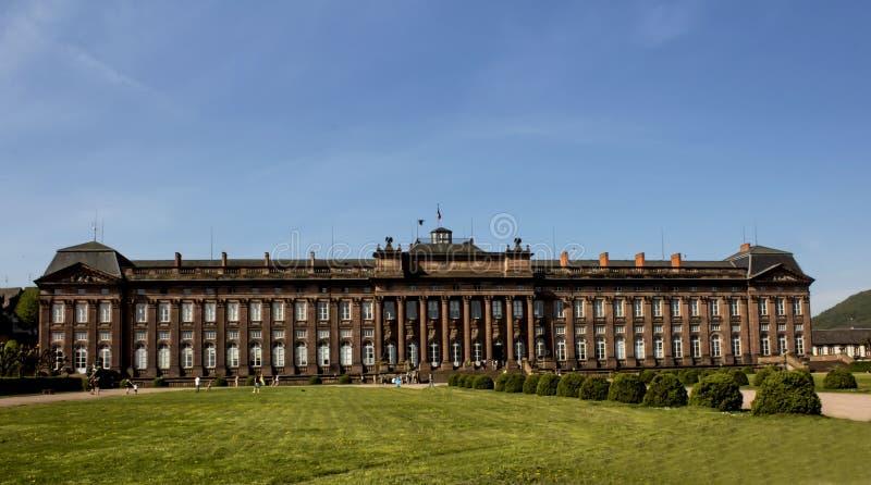 Um castelo grande do historique no saverne, france fotografia de stock royalty free