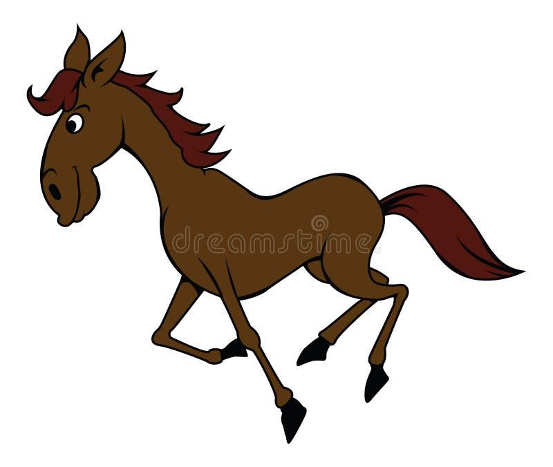 Um cavalo ilustração do vetor