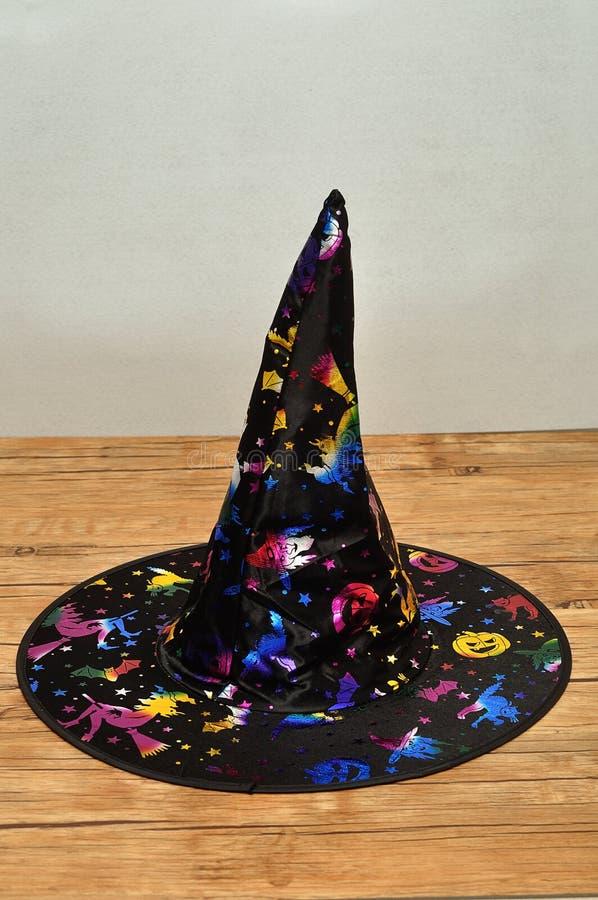 Um chapéu das bruxas imagem de stock
