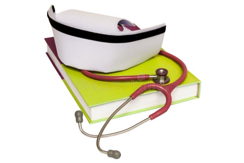 Um chapéu isolado da enfermeira imagens de stock royalty free