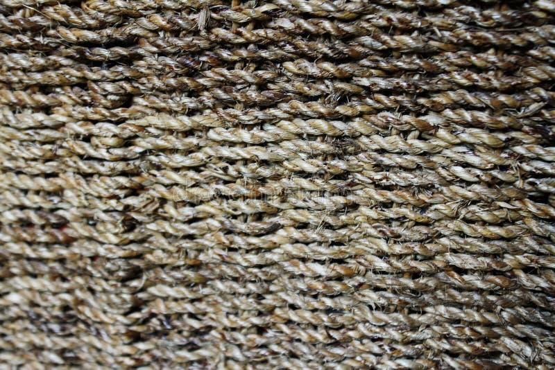 Um close up de uma cesta tecida imagens de stock