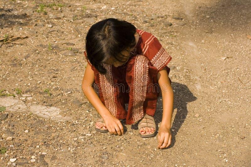 Download Um coletor pequeno foto de stock. Imagem de criança, solo - 12806452