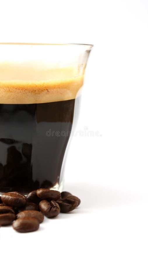 Um copo do café imagens de stock