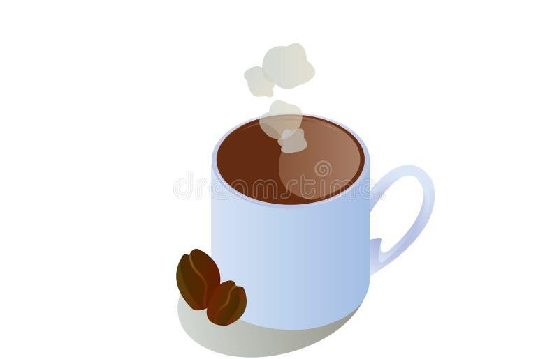 Um copo do coffe ilustração stock