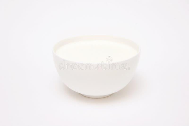 Um copo do leite imagem de stock royalty free