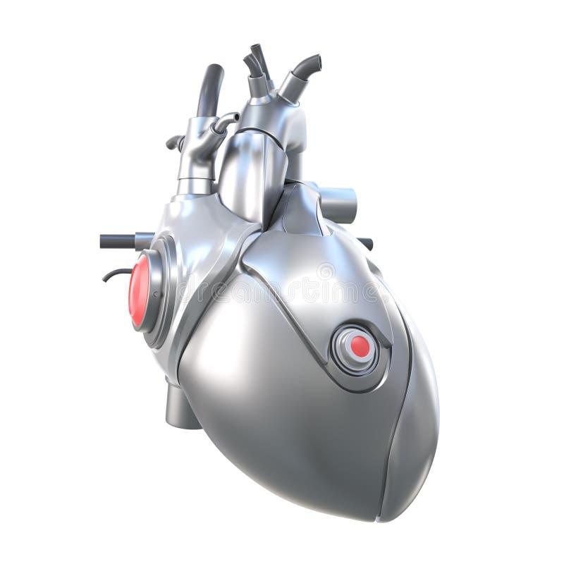 Um coração artificial ilustração do vetor