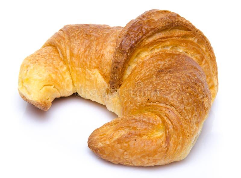 Um croissant fresco imagens de stock