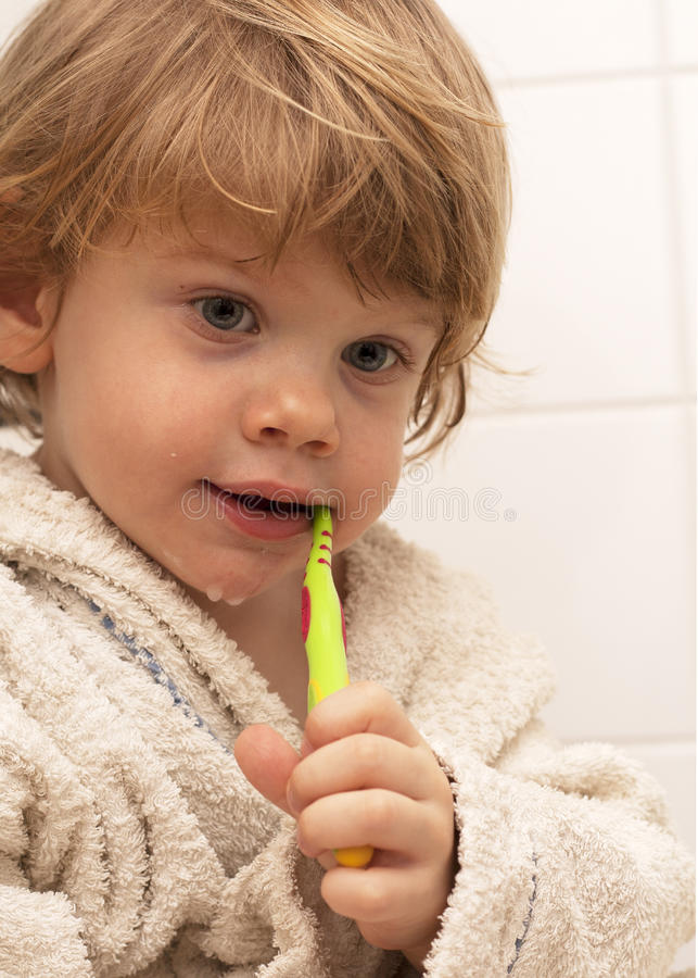 Um cuidado dos dentes fotos de stock
